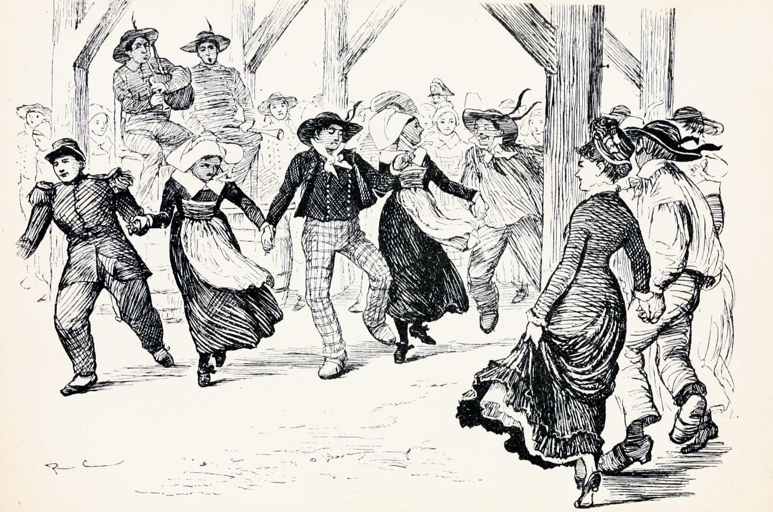 Ballant la Gavota