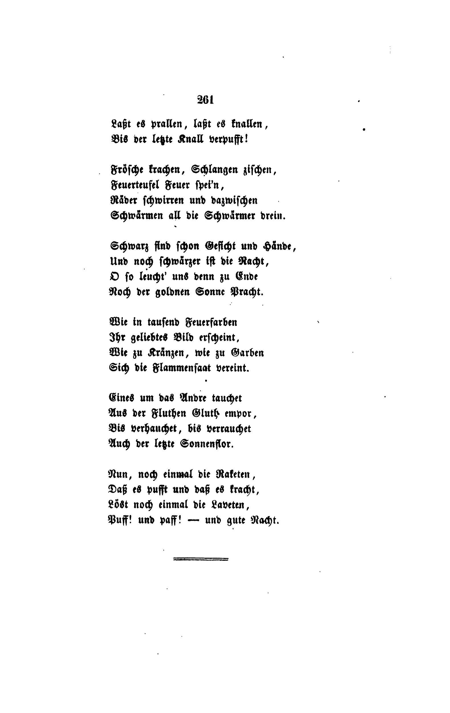Dazwischen gedicht