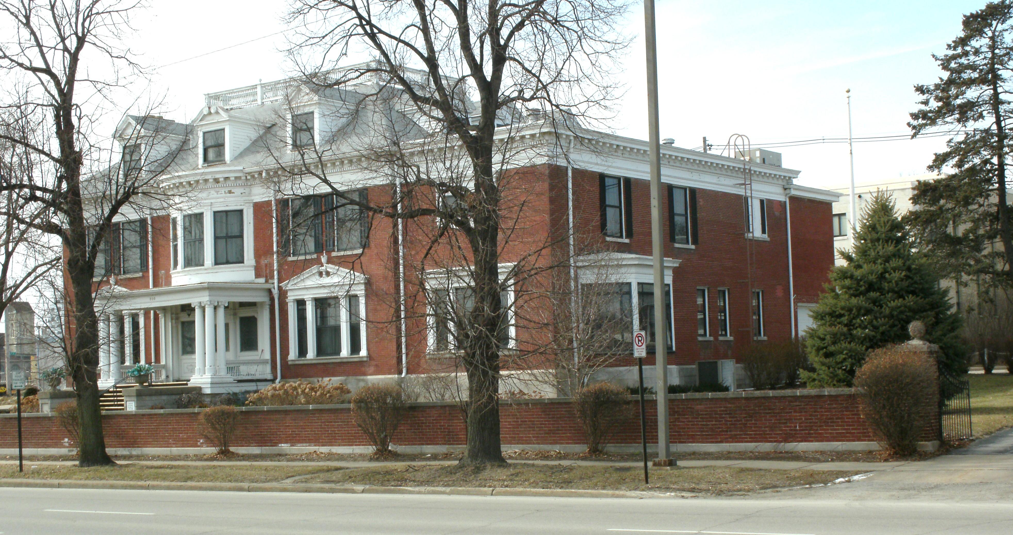 File George B Douglas House Cedar Rapids Ia Pic2 Jpg