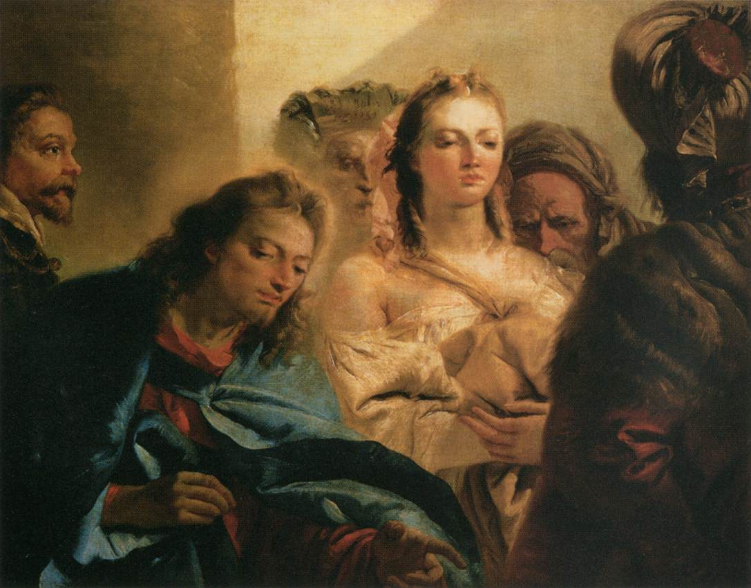 Christ with the Woman Taken in Adultery