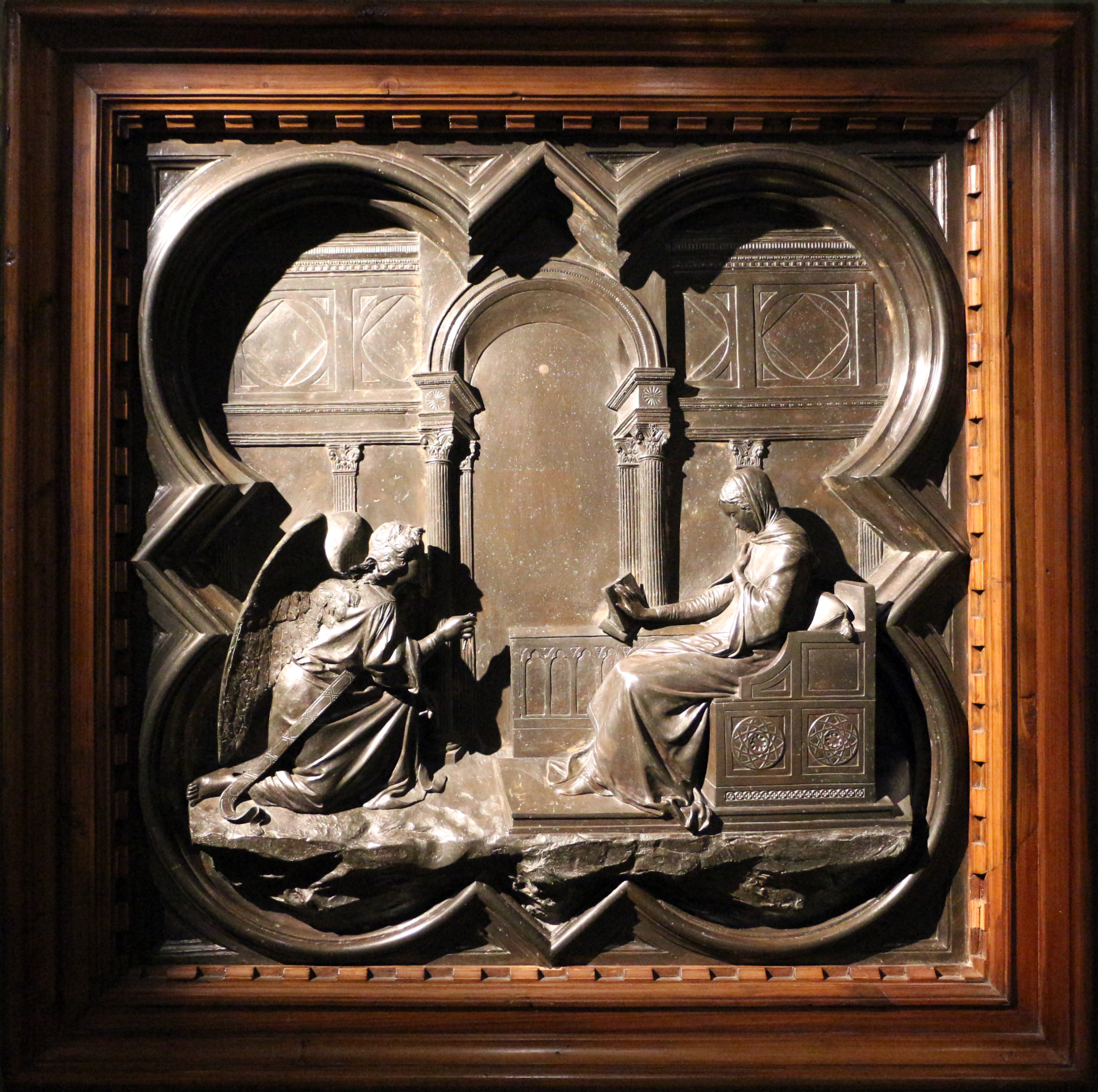 Fiore 98.File Giuseppe Cassioli Formella Per Un Cocnorso Per Le Porte