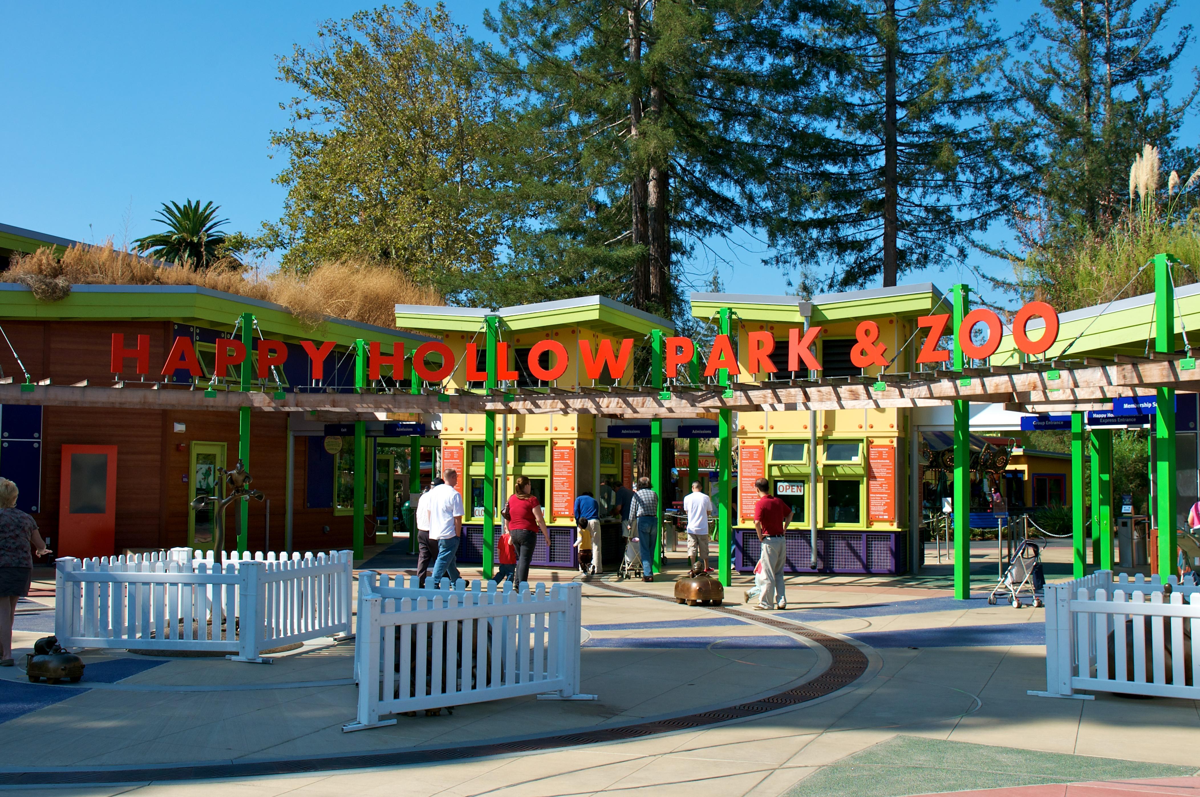 FileHappy Hollow Park  Zoo San Jose California USAOct - Map of usa showing san jose