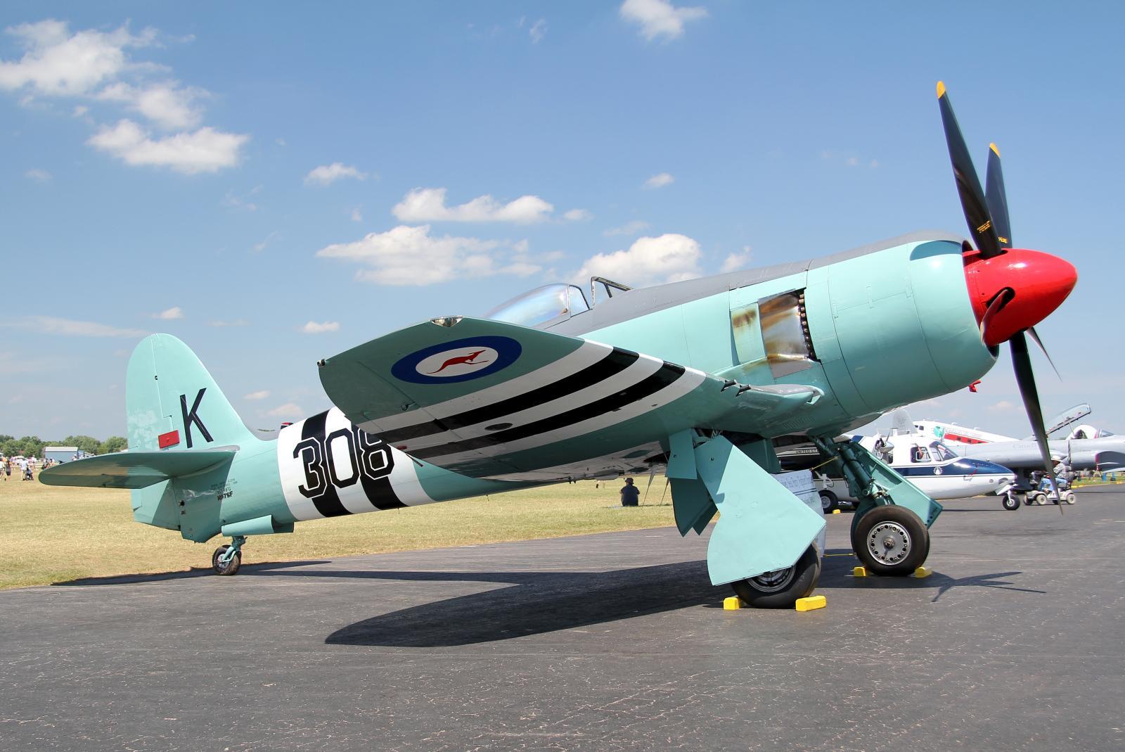 File Hawker Sea Fury Fb 11 N97sf Jpg Wikimedia Commons