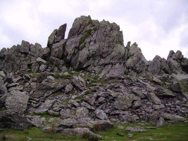 Helm Crag Summit - geograph.org.uk - 447286