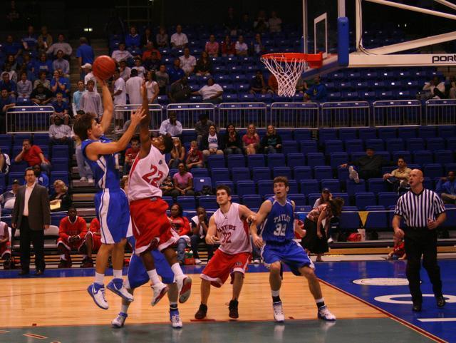 File High School Basketball Game Jpg Wikimedia Commons