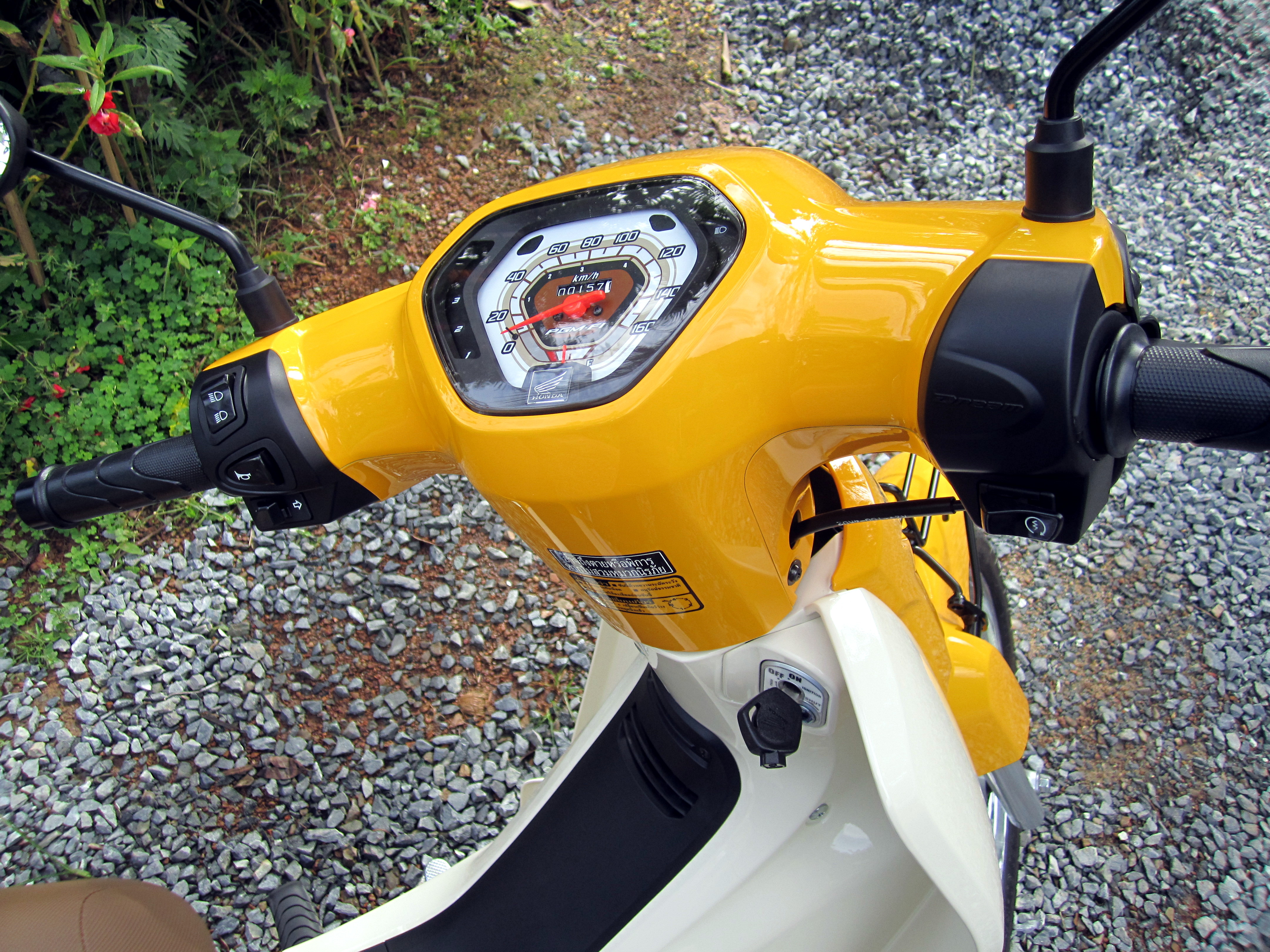 File Honda Dream 110i Super Cub Nd110m 2014 Dash Jpg Wikimedia Commons