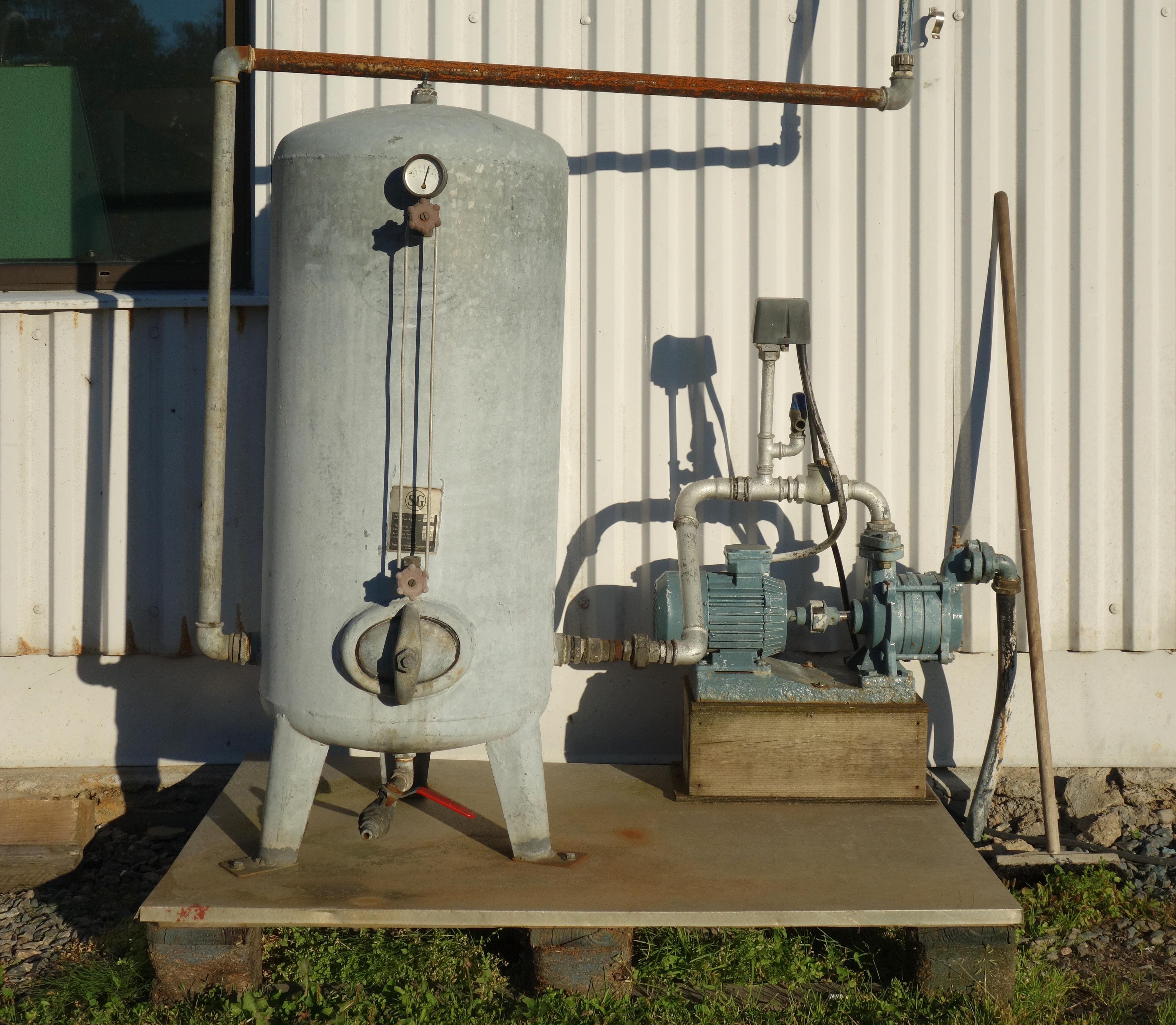 Zestaw do podłączenia zbiornika ciśnieniowego
