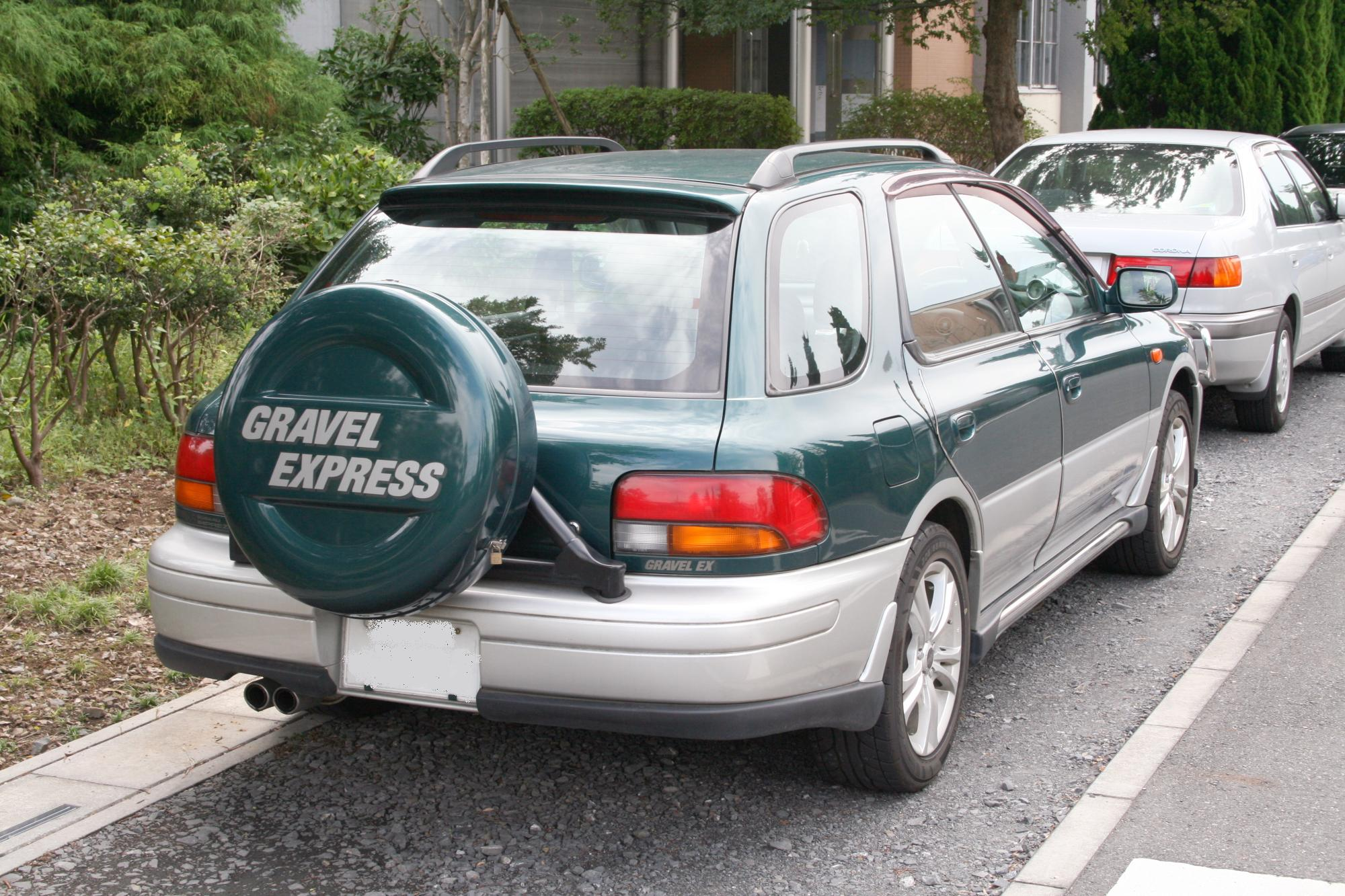 Wagon Spare Tire Holder
