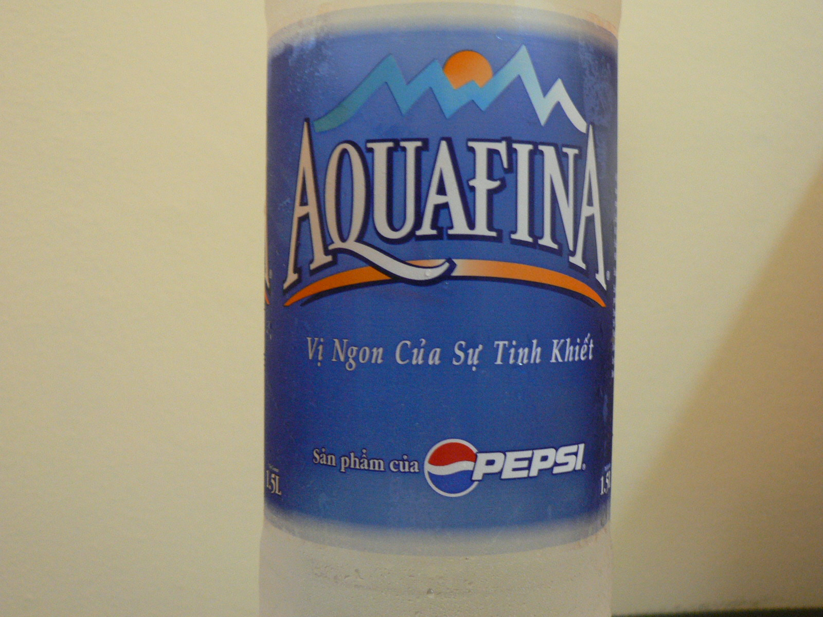 pepsico aquafina Pepsi is being forced to change the labels on its aquafina water to admit it is tap water amy goodman: the soft drink giant pepsi has been forced to make.