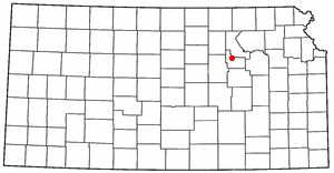 Location of Fort Riley, Kansas