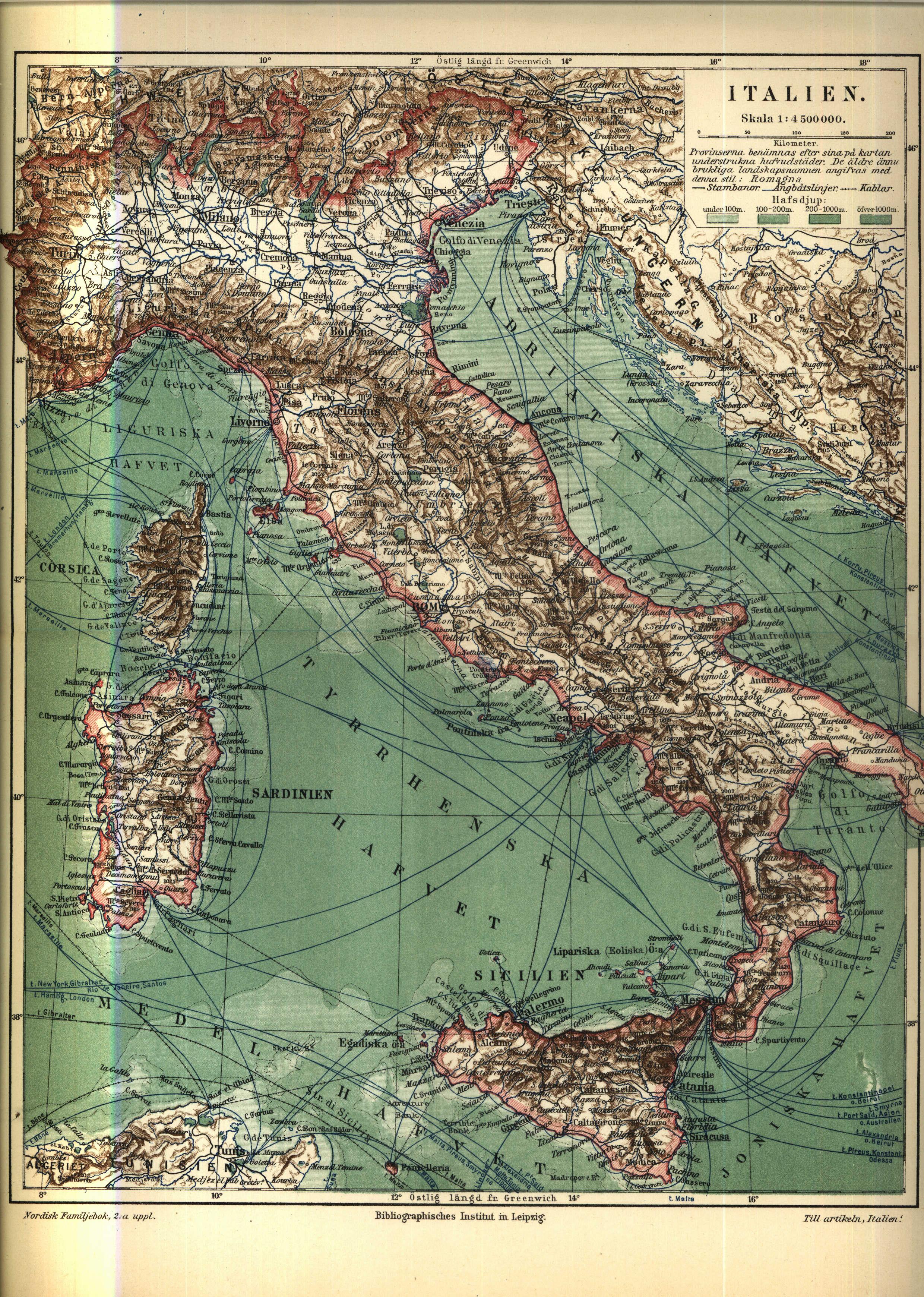 File Karta 246 Ver Italien 1910 Nordisk Familjebok Jpg