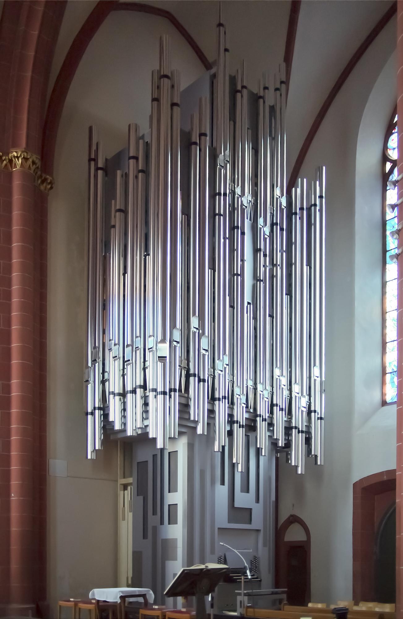 File Klais Orgel St Stephan Mainz Jpg Wikimedia Commons