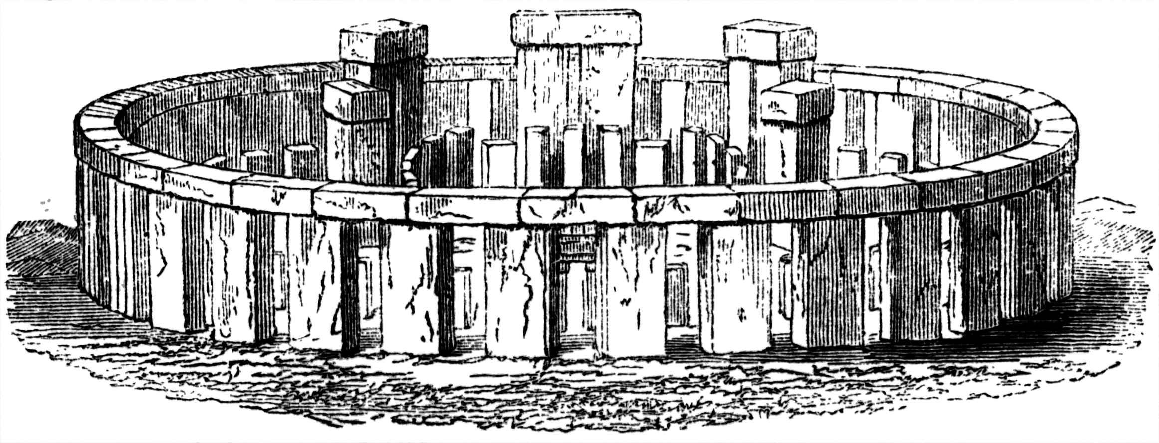 реконструкция Стоунхенджа