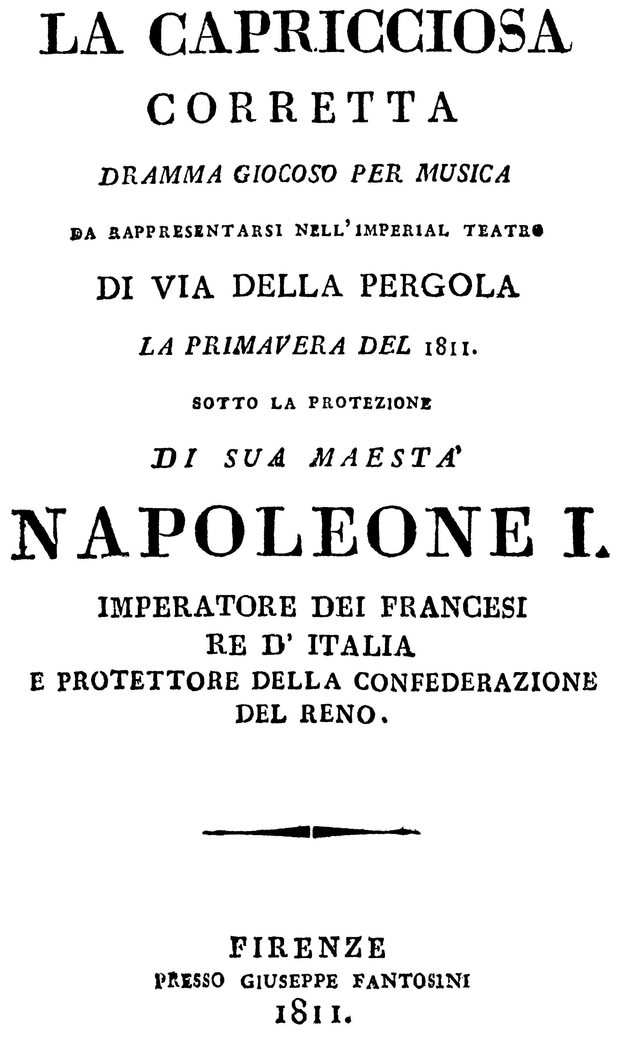 La Capricciosa Corretta Wikipedia
