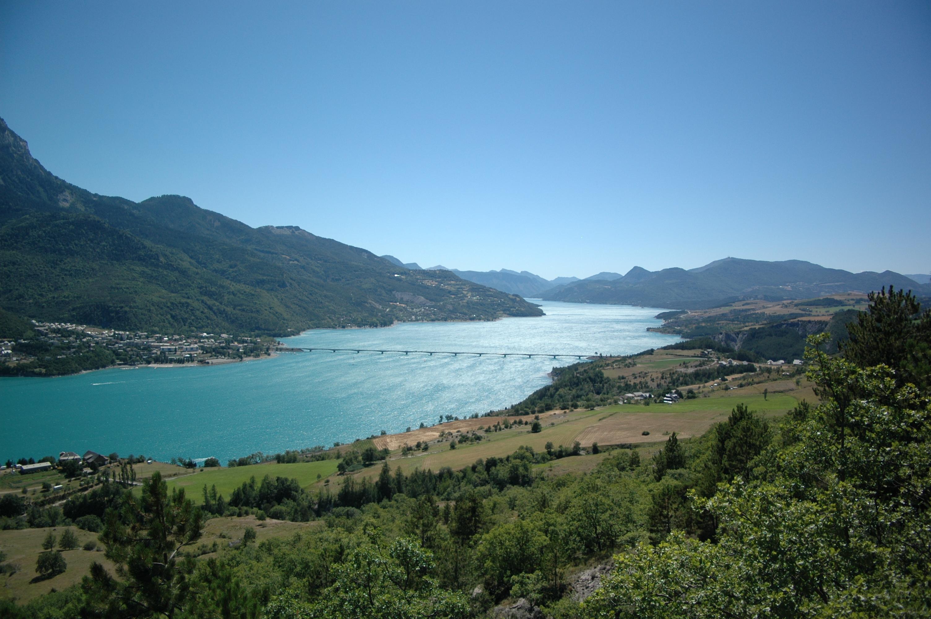 Image result for lac de serre-ponçon