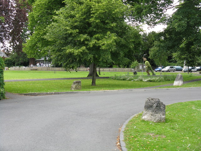 Leominster - central park (1) - geograph.org.uk - 846967