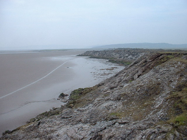 Limestone outcrop, Morecambe Bay - geograph.org.uk - 103148