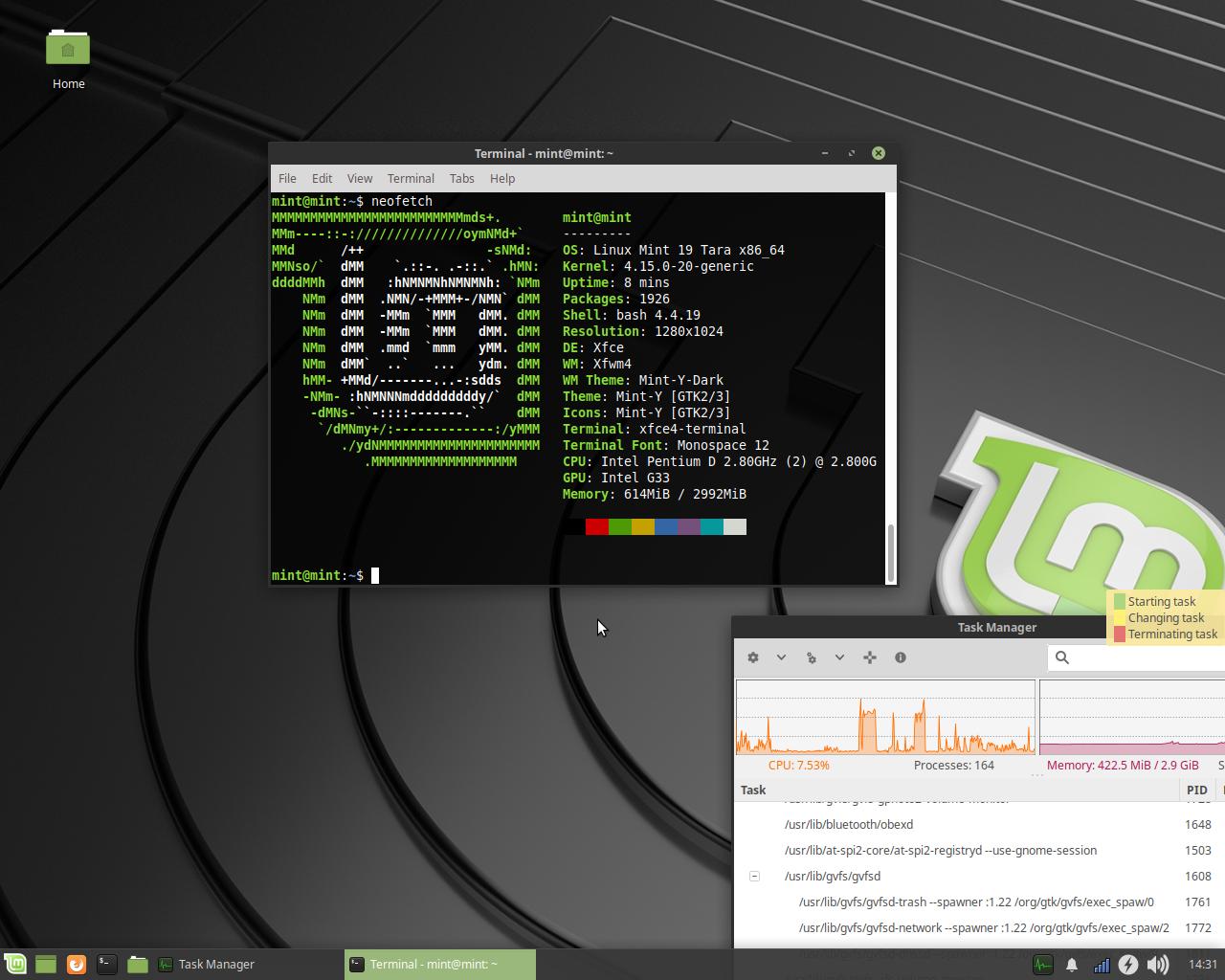 File:Linux Mint 19 -Desktopumgebung- Xfce png - Wikimedia