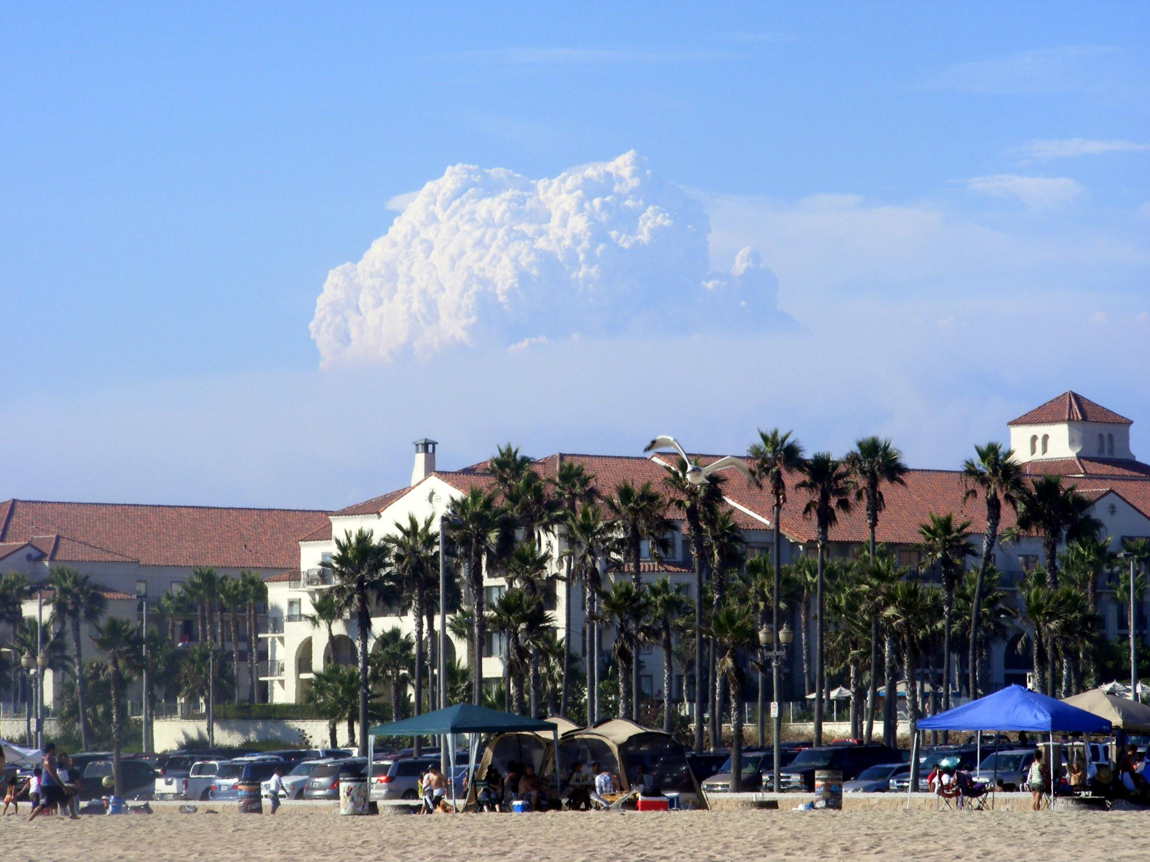File Los Angeles 2009 Fires Huntington Beach 2 Jpg