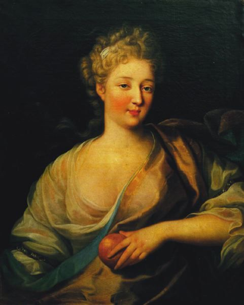 Louise-Julie-Constance de Rohan, comtesse de Brionne as Venus or Helen of Troy.jpg