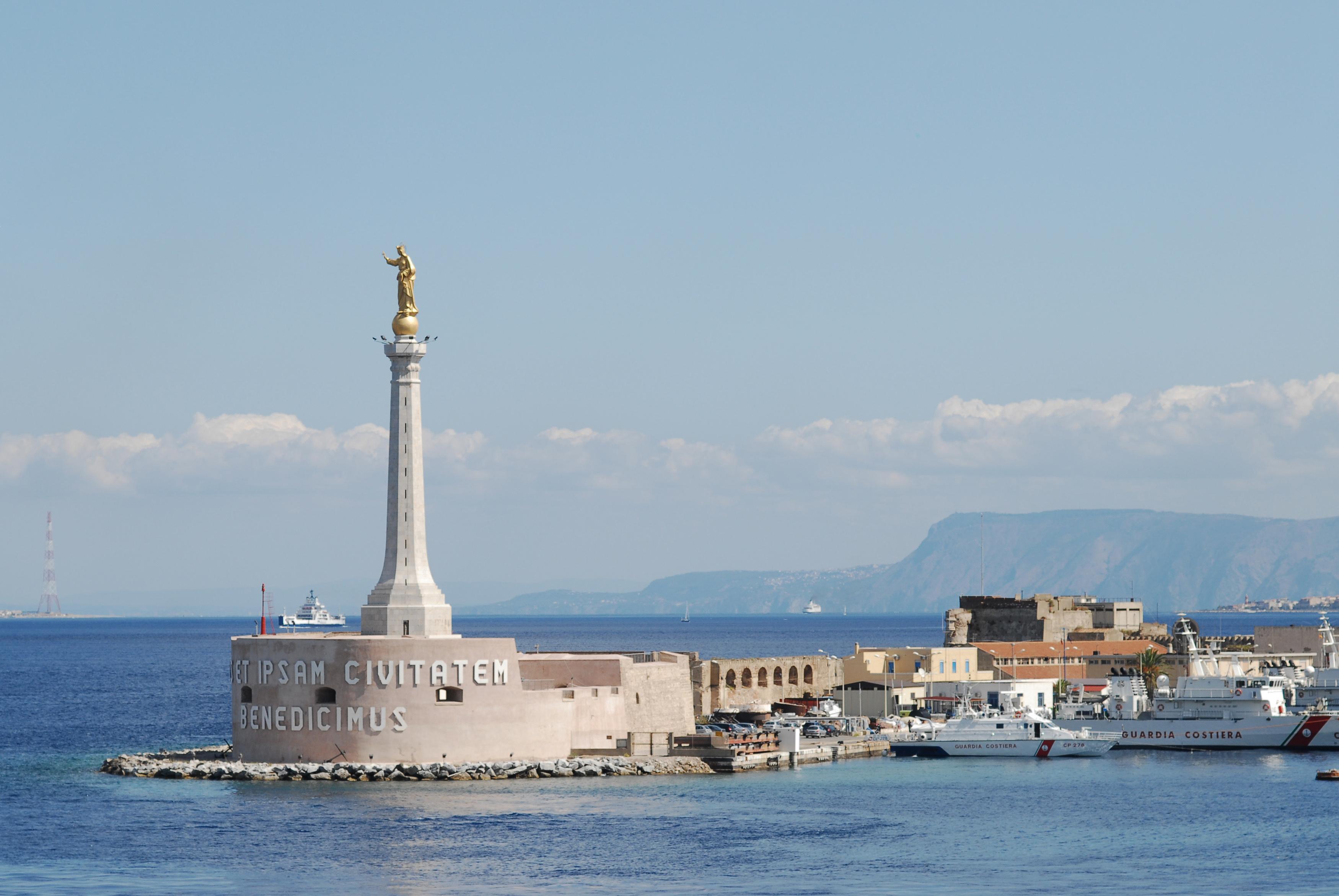 Messina Italy  city photos : ... Messina. The Mediterranean Sea, Island of Sicily, Italy, Southern