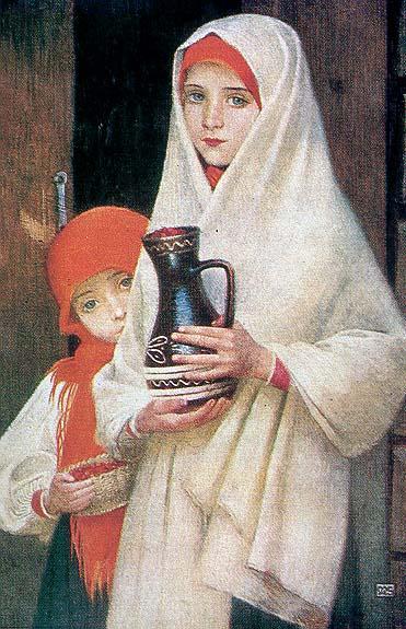 Biografia y Obras de los Pintores de la Hermandad Prerrafaelita - I Marianne_Stokes04