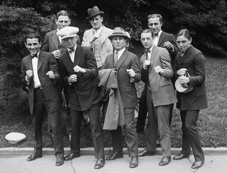 Members of the U.S. Olympic Boxing Team in 1924