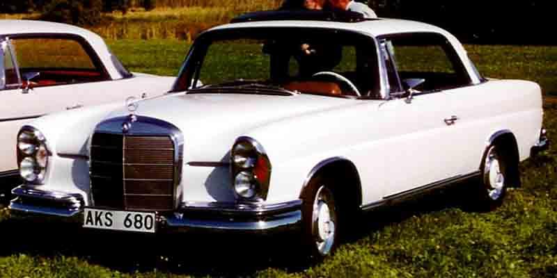 Mercedes benz se coupe 1962 for 1962 mercedes benz