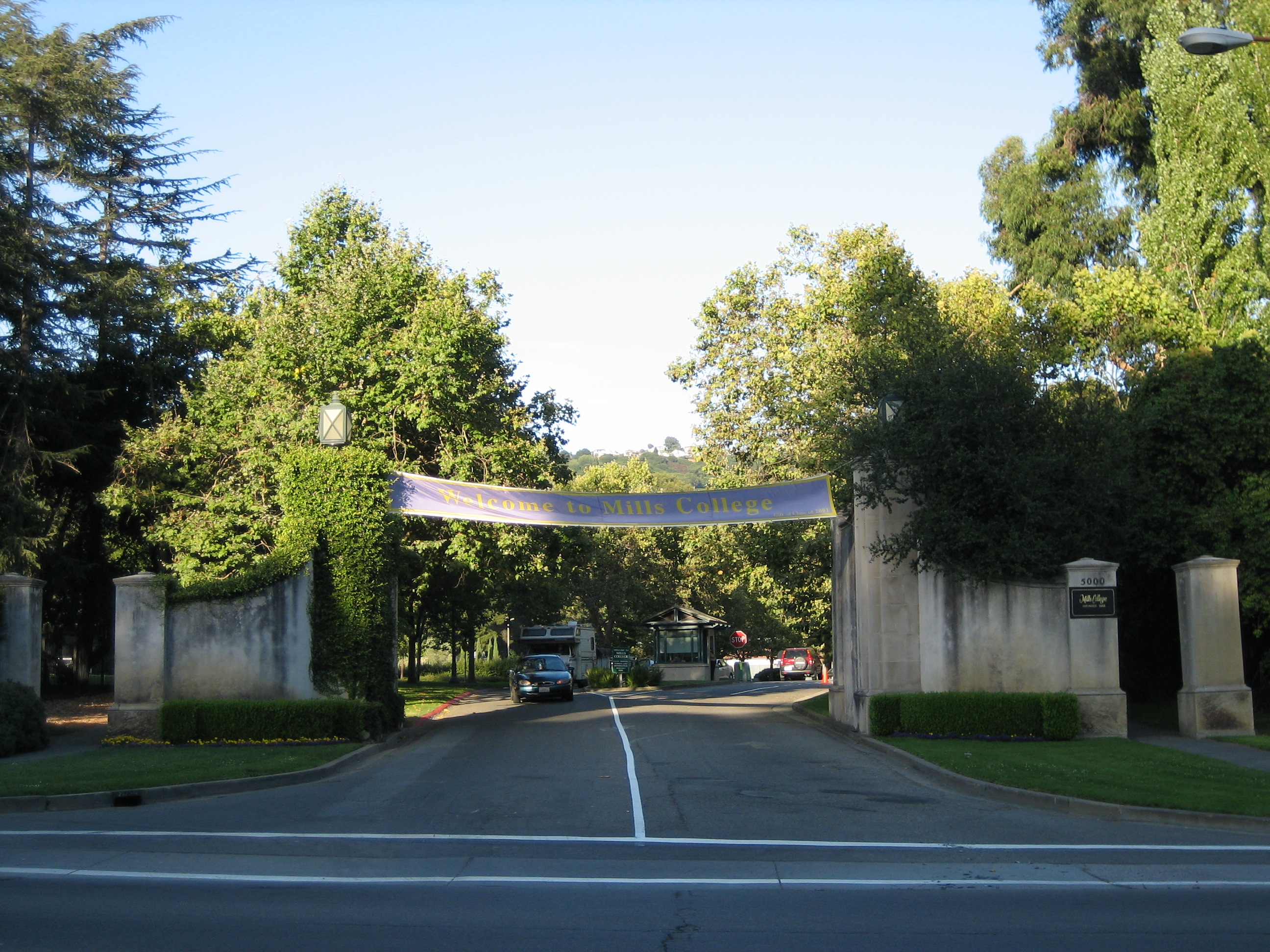 Mills College Entrance