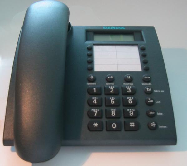 Telefonní linka ideální pro volání v rámci firmy a mezi pobočkami nebo pro volání.
