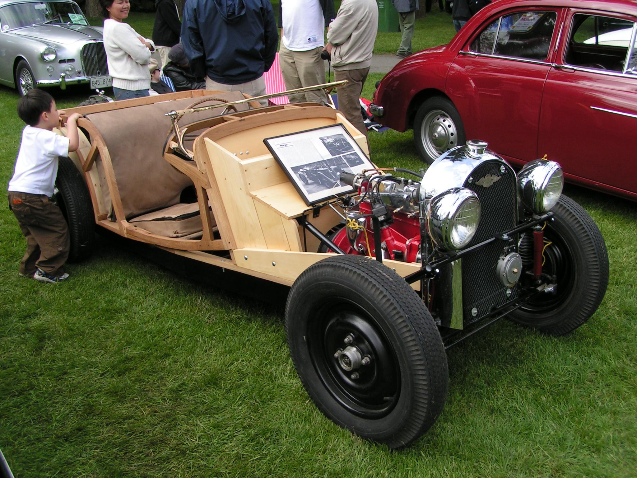 Morgan Wood Car Price