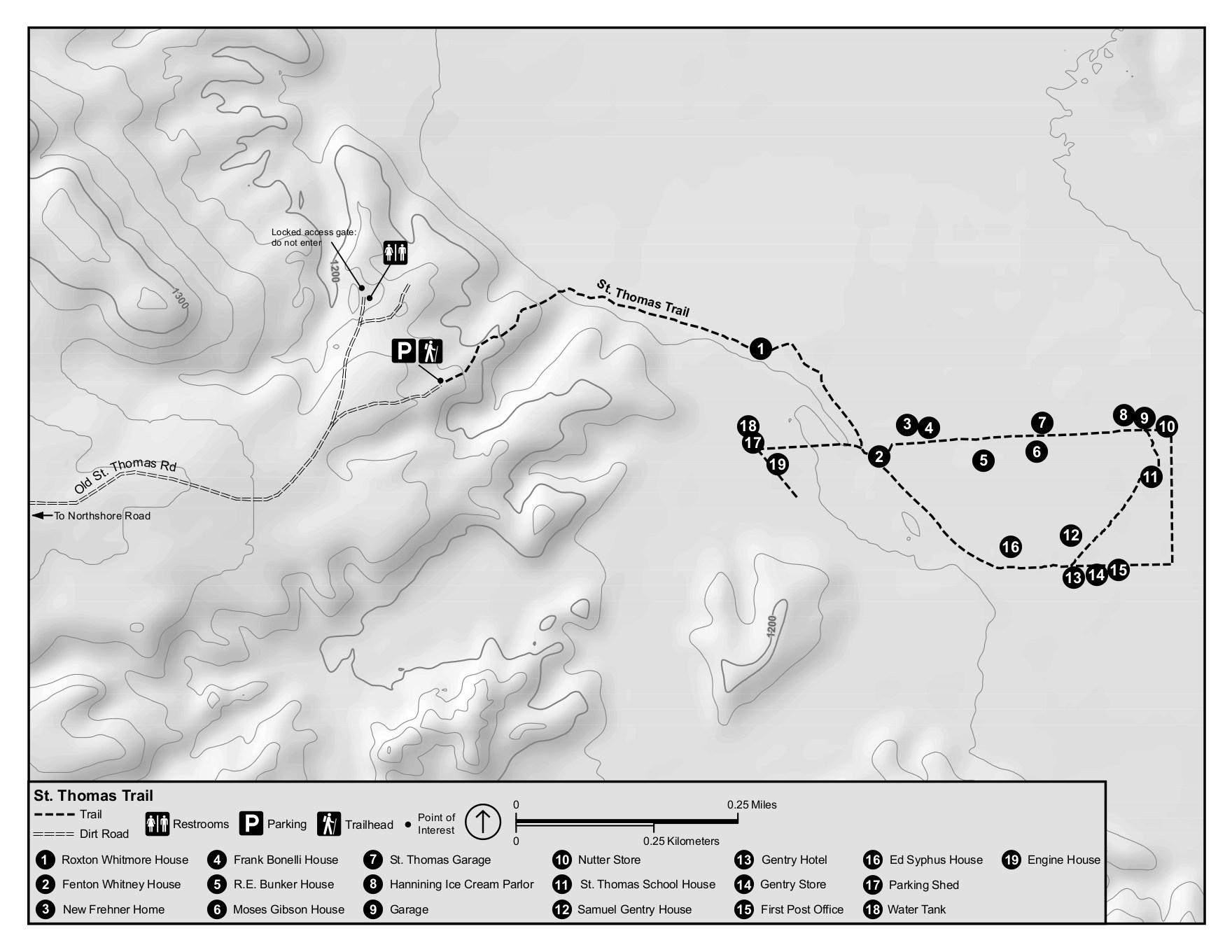 File Nps Lake Mead St Thomas Trail Map Jpg
