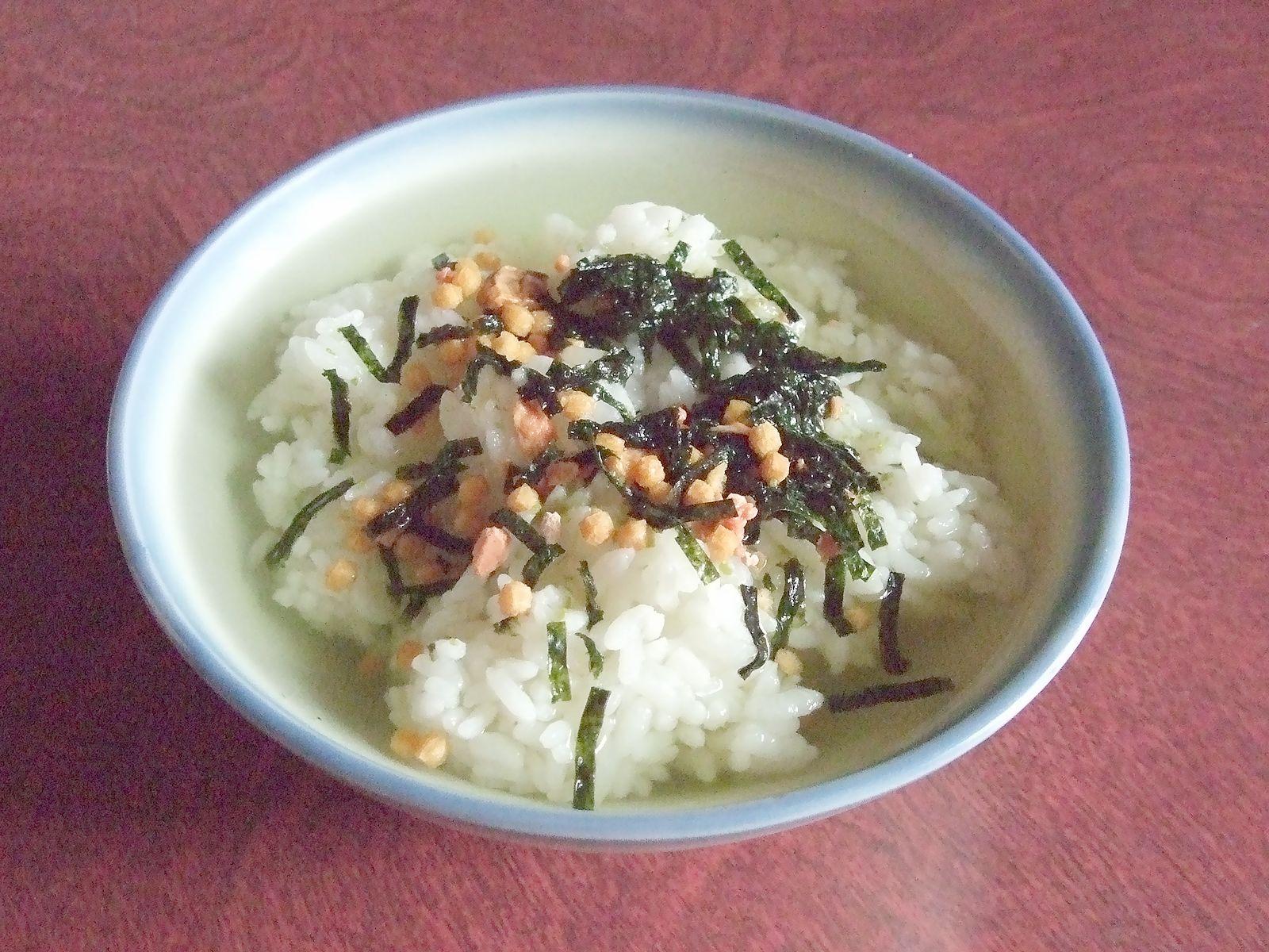 日本古来よりの即席メシお茶漬け - cureco beta