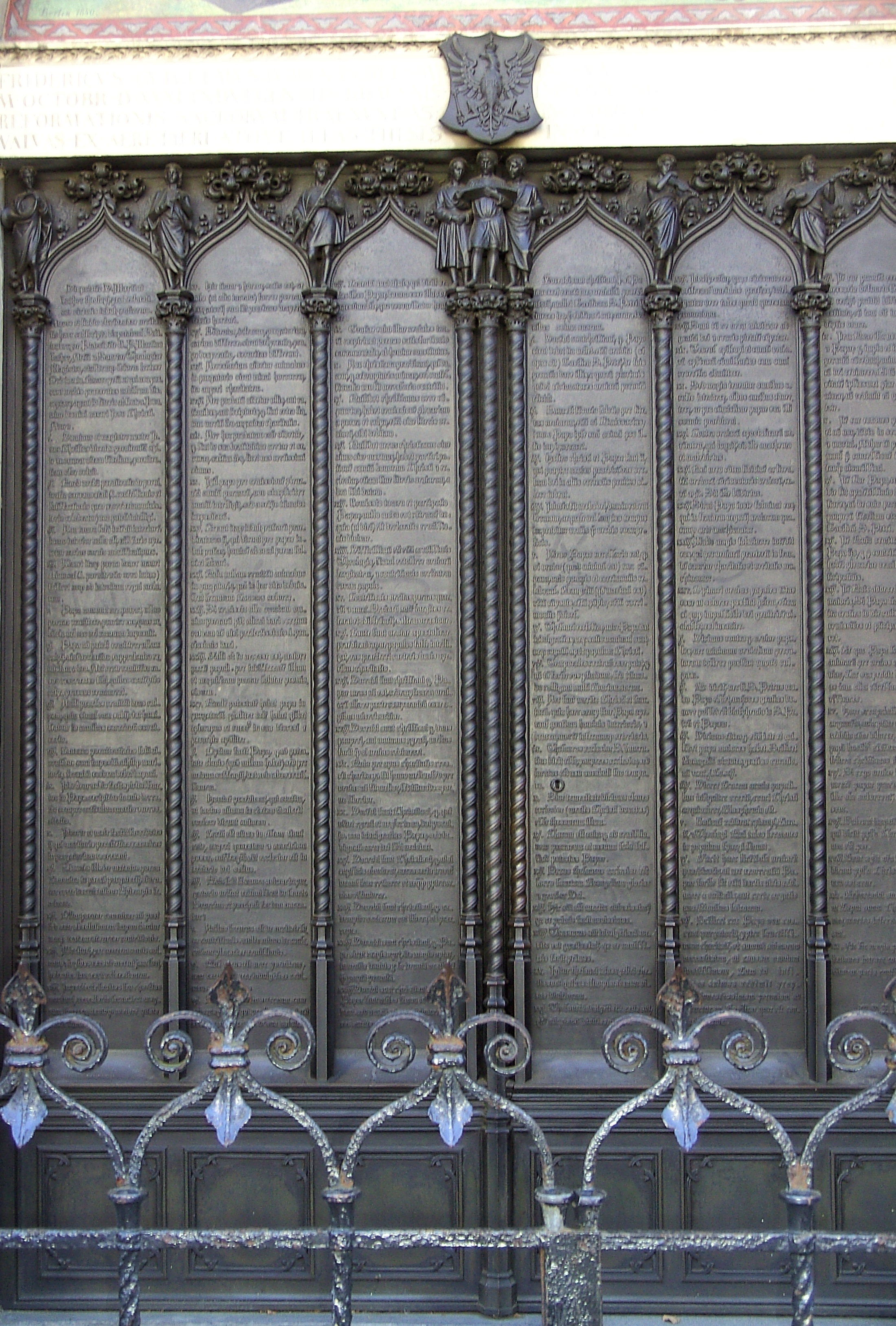 Ninety five theses summary