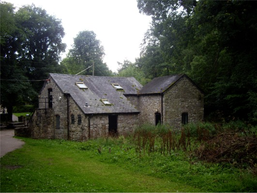 Outbuildings at Loggerheads Country Park - geograph.org.uk - 933457