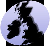 P UK Map
