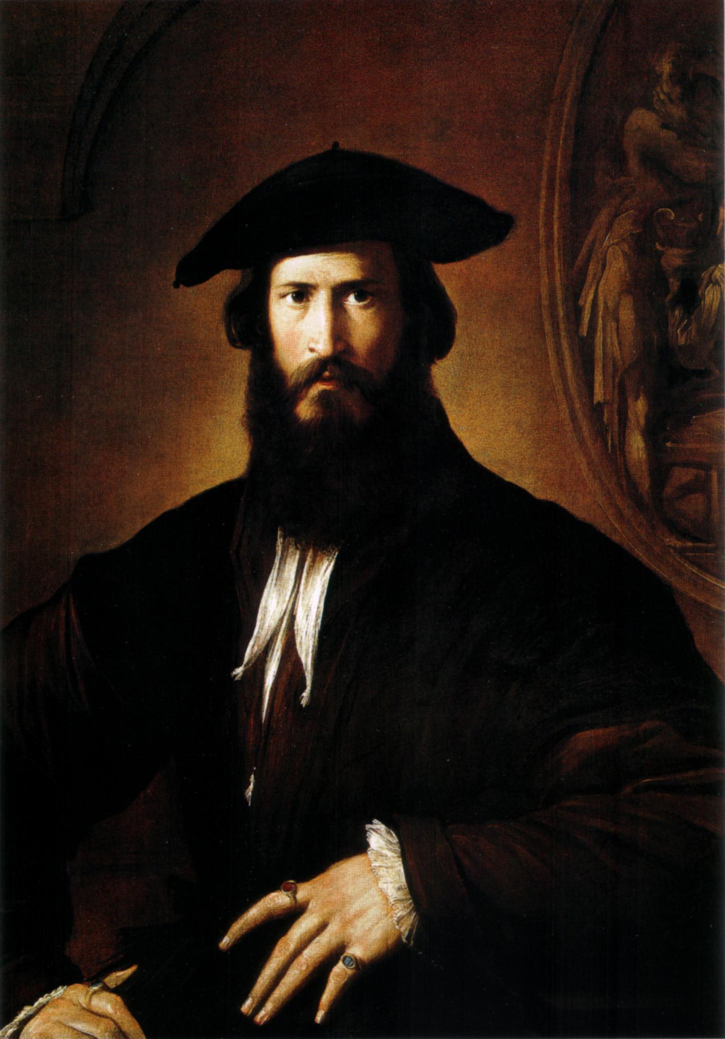 File:Parmigianino, ritratto maschile uffizi.jpg - Wikipedia