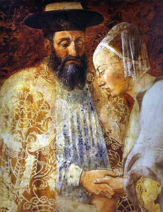 King Solomon and the Queen of Sheba, painting by Piero della Francesca