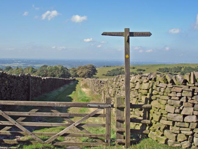 Pott Shrigley - North Cheshire Way