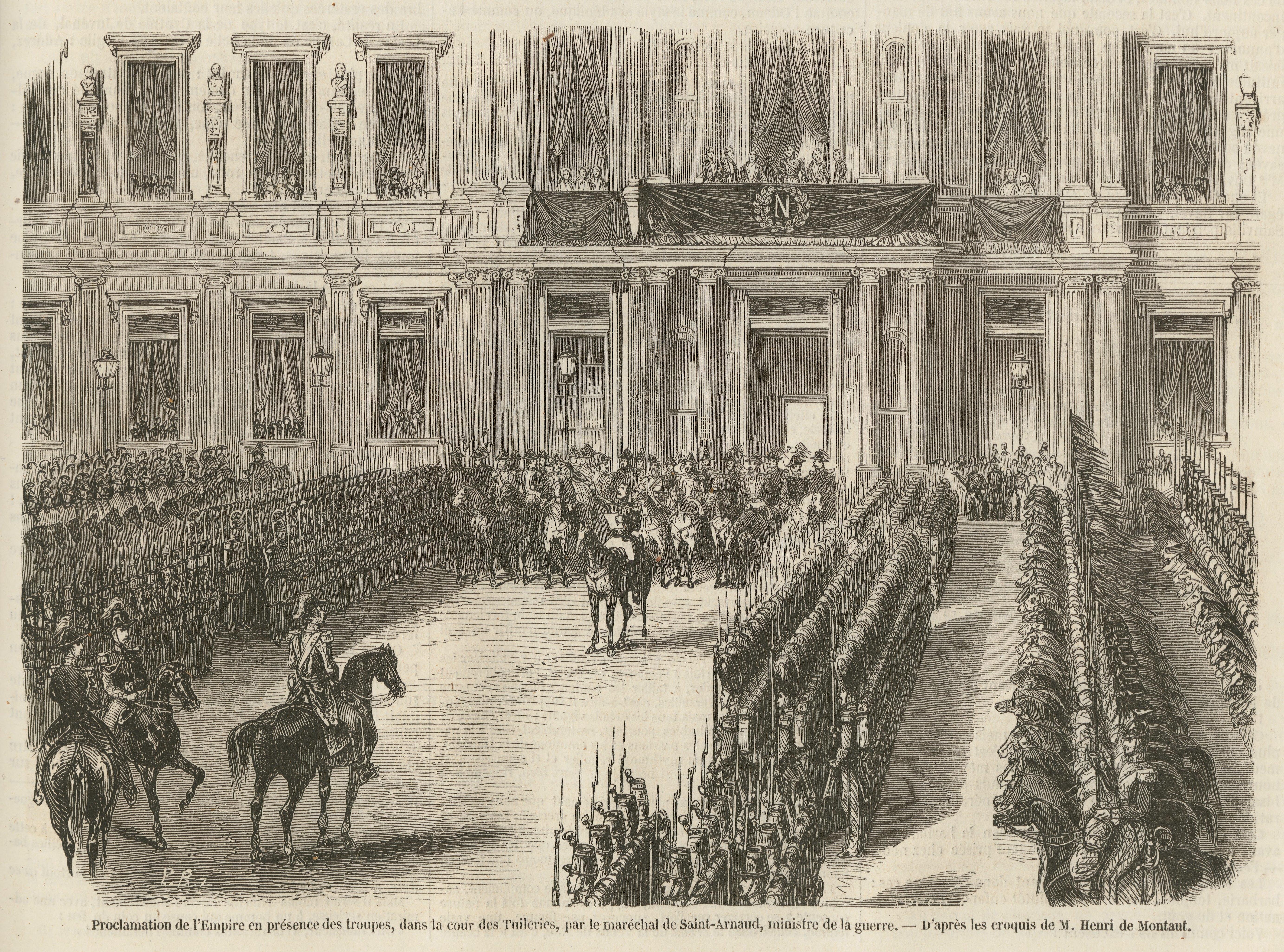 File:Proclamation de l'Empire, à l'Hôtel de ville, le