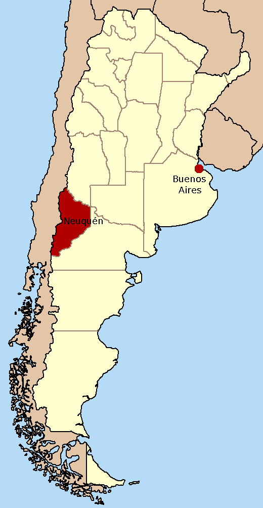 FileProvincia Del Neuquén Argentina Buenos Aires Markedpng - Neuquen argentina map