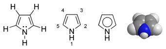 Verschiedene mögliche Strukturformel-Schreibweisen.