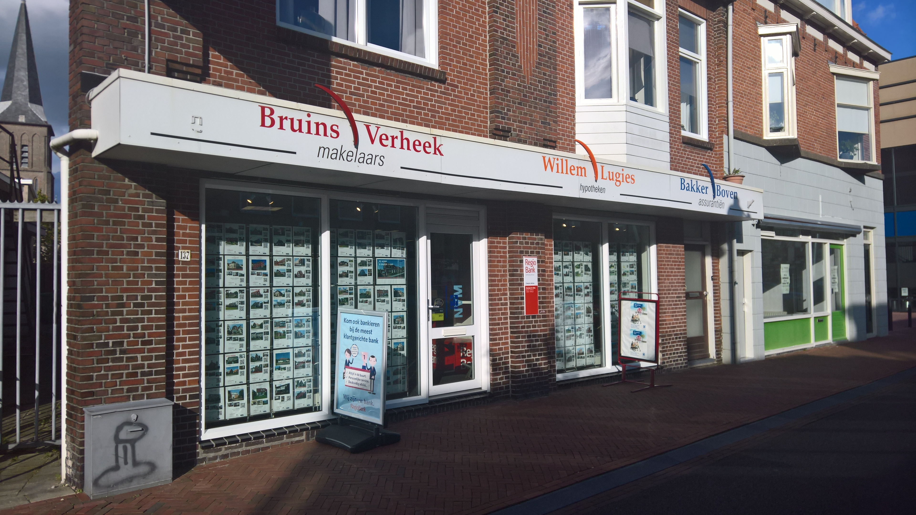 File:Real Estates Companies Building In Winschoten (2017)
