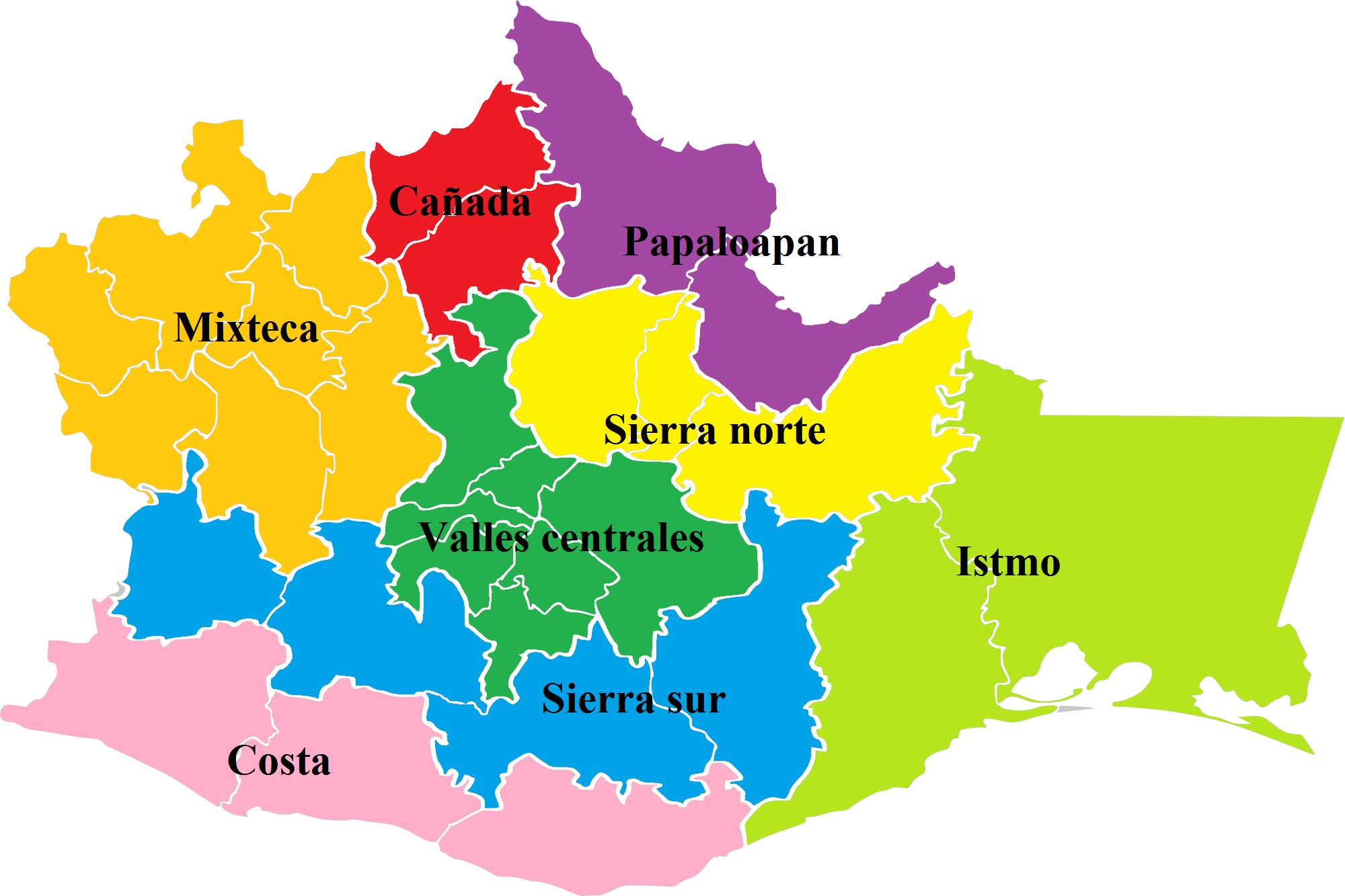 Archivo:Regiones Oaxaca Nombres.png