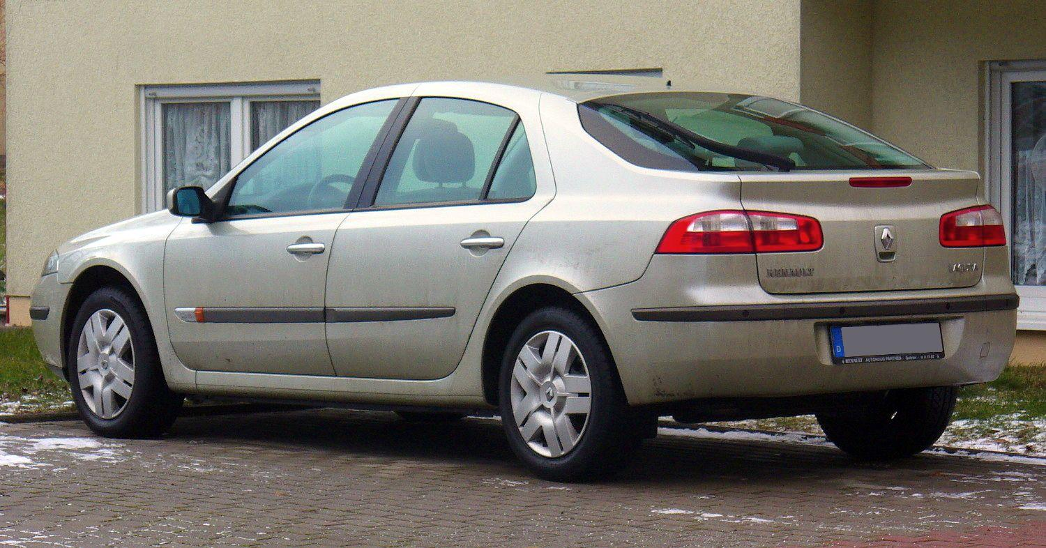file renault laguna ii phase i 1 8 16v heck jpg wikimedia commons. Black Bedroom Furniture Sets. Home Design Ideas