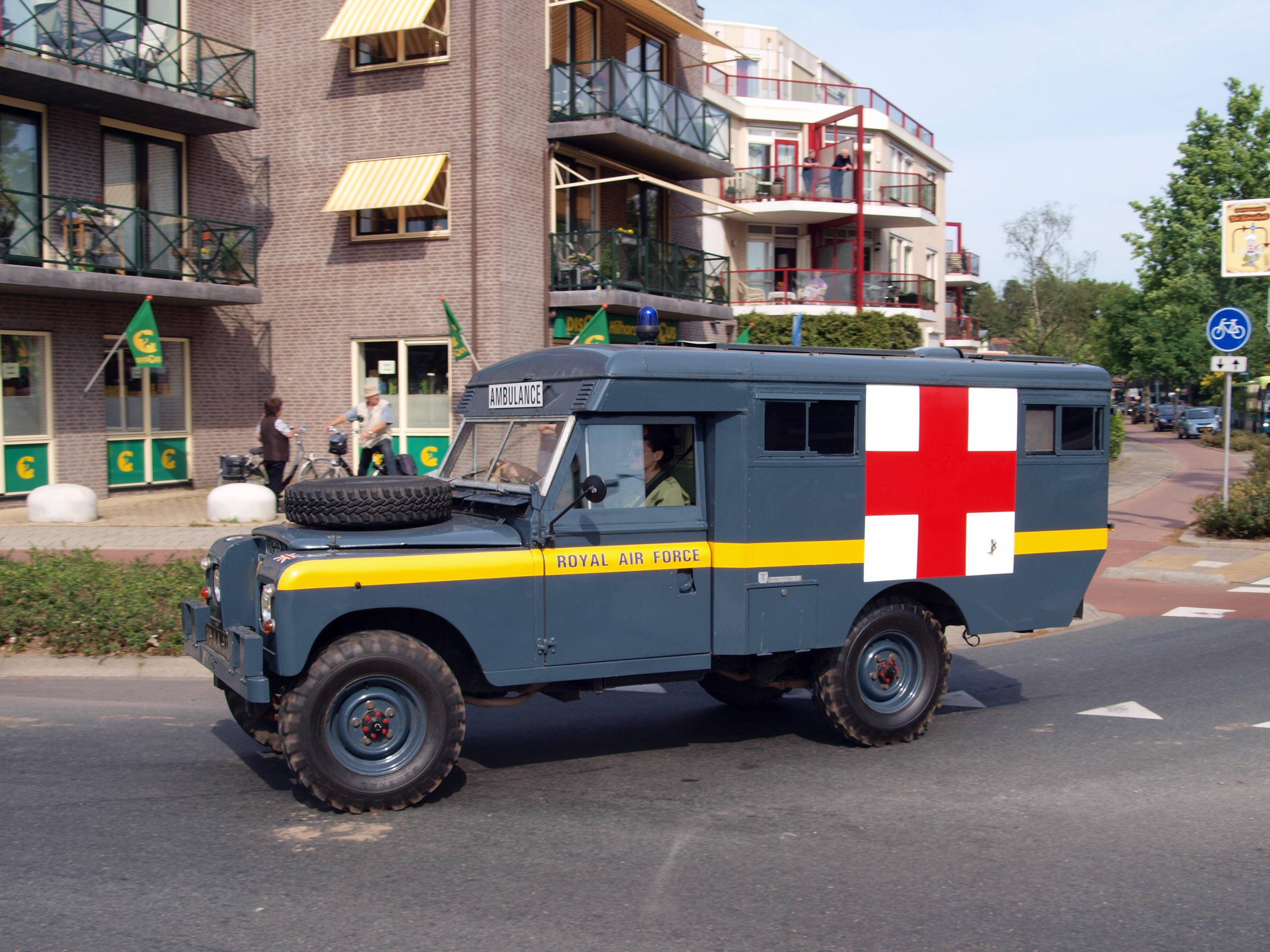 File Royal Air Force Land Rover Ambulance Bridgehead 2011