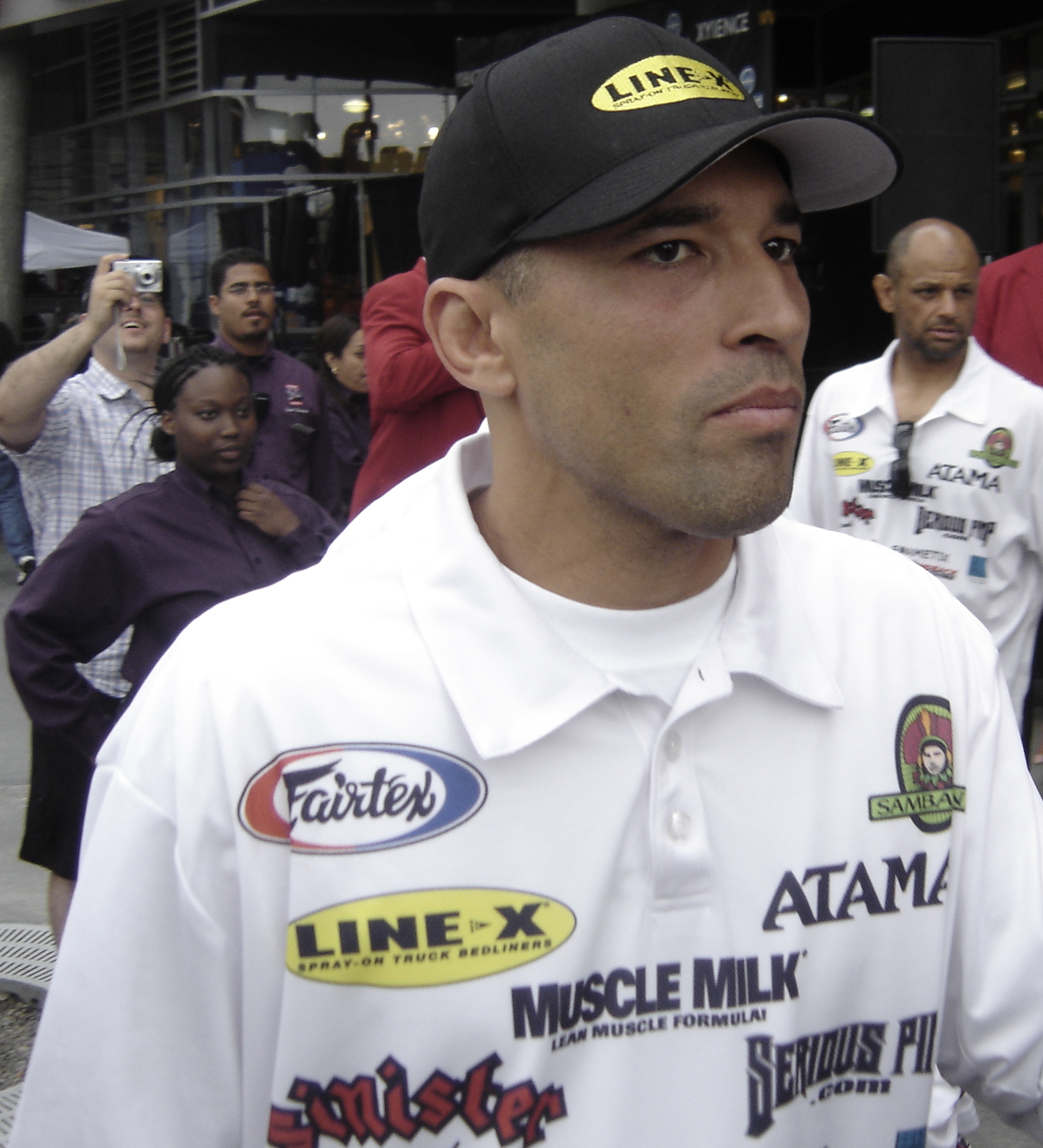 Depiction of Royce Gracie