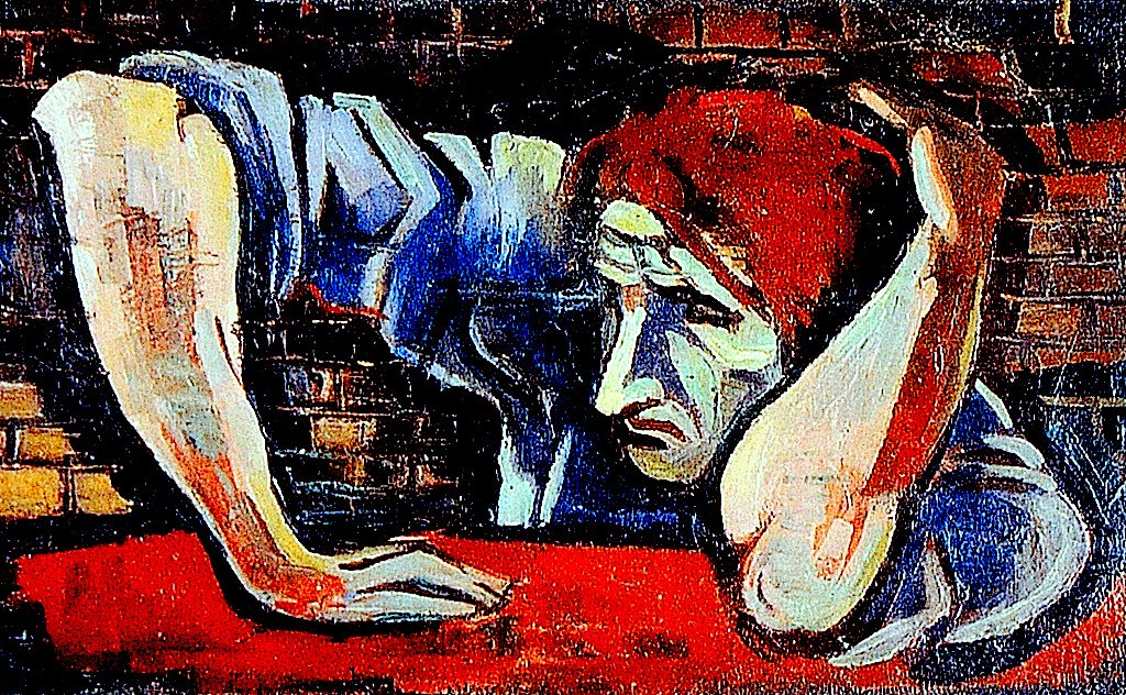 https://upload.wikimedia.org/wikipedia/commons/2/23/Rudolf_G._Bunk_-_Man_in_front_of_a_wall.jpg
