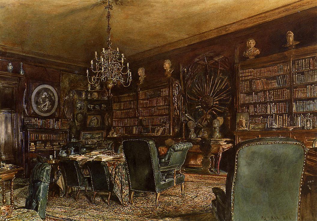 Rudolf Ritter von Alt library