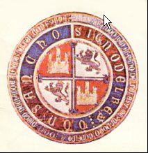 Seal of Sancho IV of Castile, Ferdinand IV's father.